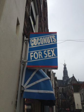 A shop in Haarlem......your guess is as good as mine