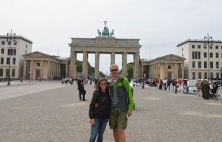 At the Brandenburg Gate