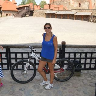 At Trakai castle.