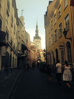 Tallin, a beautiful city, good food and good beer - happy days.