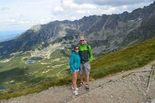 On top of Kasprowy Wierch.