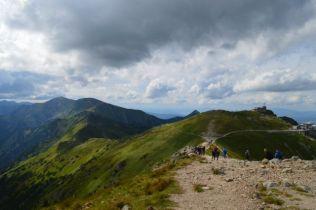 The beautiful Tatra mountains.