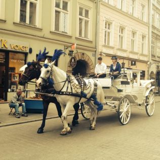 Transport in Krakow.