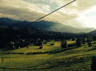 I should have know that anything needing a cable car to reach the top would be too steep for me to cycle down :(