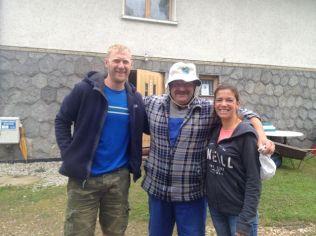 Super friendly campsite owner Maciej.