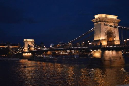The most impressive city we've been to, we loved Budapest