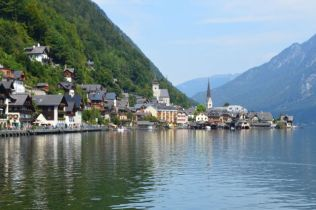 Beautiful Hallstatt took the honour of 'longest time spent in one place' so far, we couldn't seem to leave!
