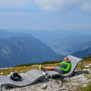 Up in the Dachstein Mountains.