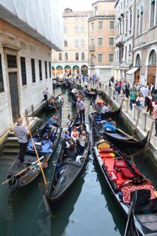 Rush hour Venetian style