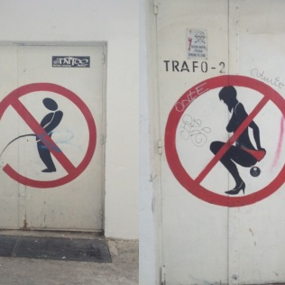 I'm not sure what the ladies are not allowed to do?!