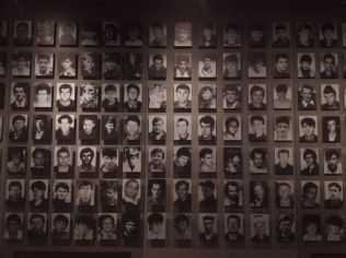 Some of the thousands killed in the massacre at Srebrenica.