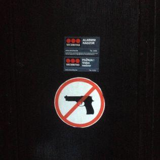No guns - very wise.