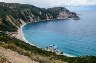 Myrtos beach (this was as close as we could get due to road maintenance)