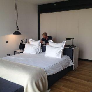 Sense hotel in Sofia.