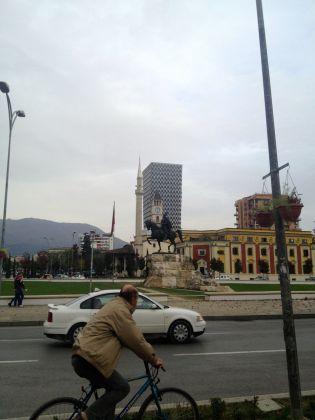 Tirana, the Albanian capital.