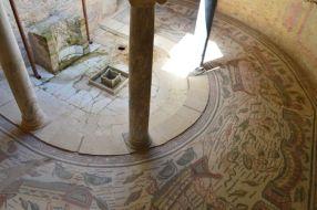 Mosaics at the Villa Romana del Casale.